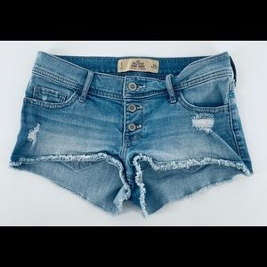 Hollister Jean Shorts Size 1/25